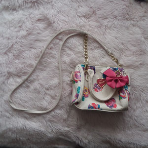 Betsey Johnson XOXO Mini Crossbody Bag